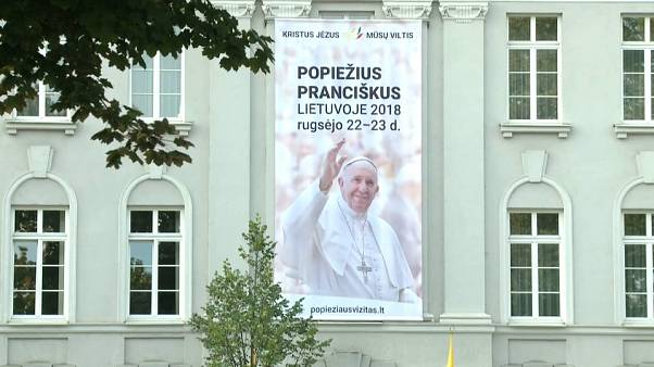 Pope due in Baltic states on independence anniversary