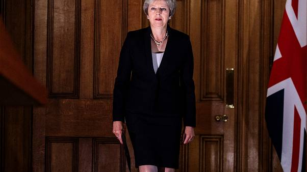 Britain's Prime Minister Theresa May in London on September 21, 2018.