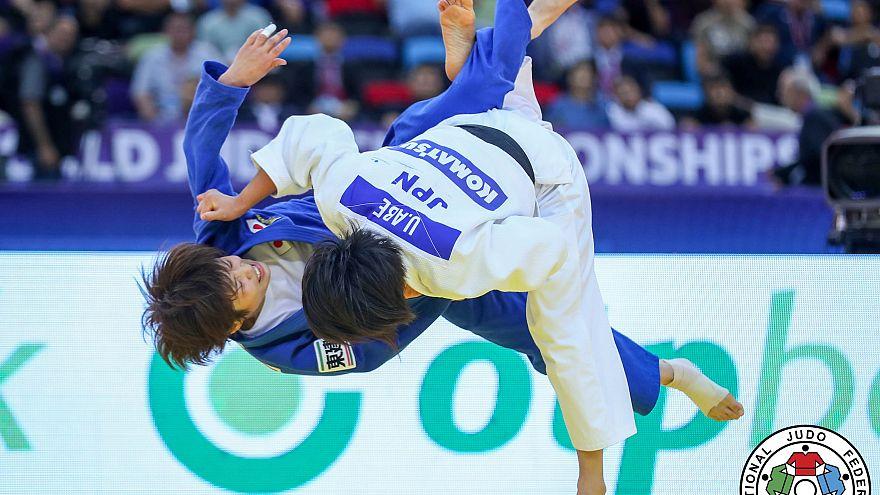 Los hermanos Abe mandan en la segunda jornada del mundial de judo