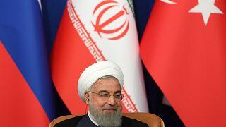Ruhani'den Trump'a sert mesaj: ABD Saddam Hüseyin ile aynı kaderi paylaşacak