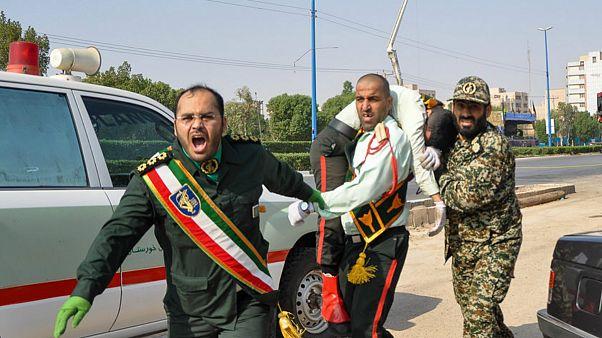 حمله مسلحانه به رژه نیروهای مسلح در اهواز