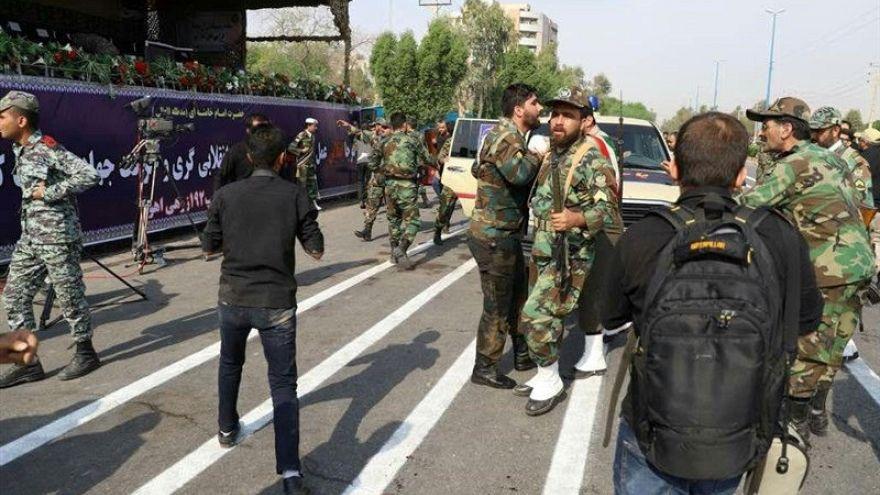 Теракт во время парада