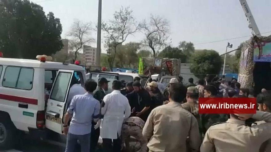 مقتل أحد عشر من الحرس الثوري في هجوم الأهواز ومعلومات عن سقوط عشرات الجرحى