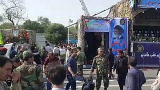 25 Tote bei Anschlag auf Militärparade im Iran