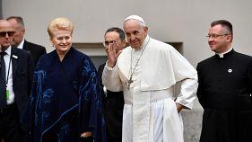 Franziskus im Baltikum: Papst verteidigt Multikulti