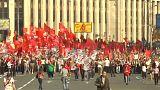 Megint tüntettek Moszkvában a nyugdíjreform ellen