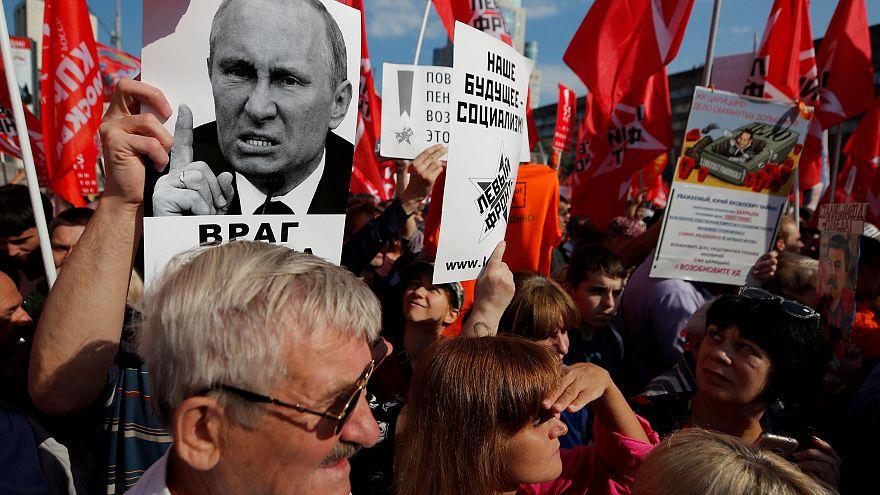 """""""Путин, где наши пенсии?"""""""