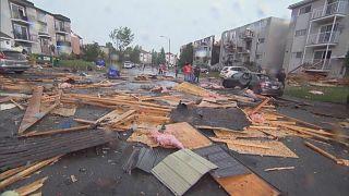 Tornado wütet im Osten Kanadas