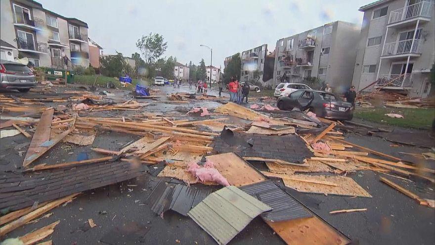 На Оттаву обрушился торнадо