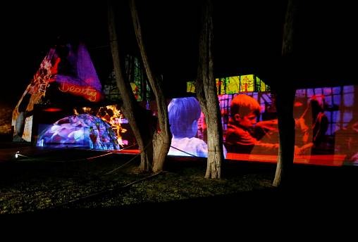 Light festival dazzles Portuguese coastal town of Cascais