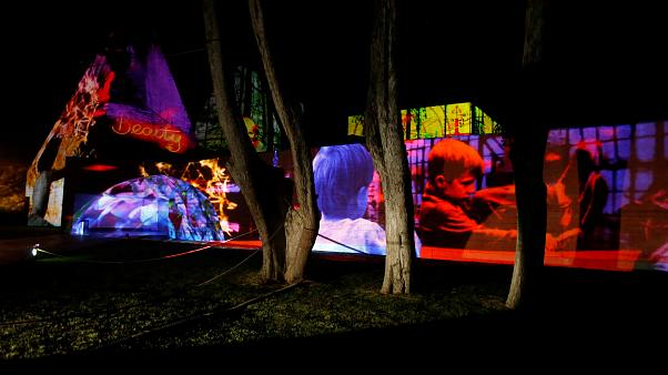 Light festival dazzles Portuguese coastal town of Cascais