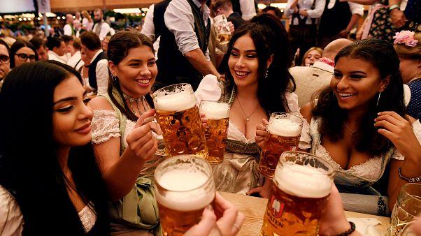 Bira tutkunlarının adresi Oktoberfest'e 6 milyon ziyaretçi bekleniyor