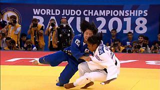 الجيدو: اليابانية تسوكاسا أوشيدا تتوج بلقب عالمي في باكو لأول مرة في مسيرتها