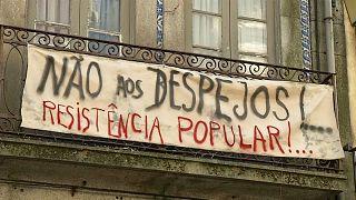 Moradores de Porto e Lisboa lutam pelo direito à habitação