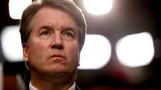 US Supreme Court nominee Brett Kavanaugh during confirmation hearing
