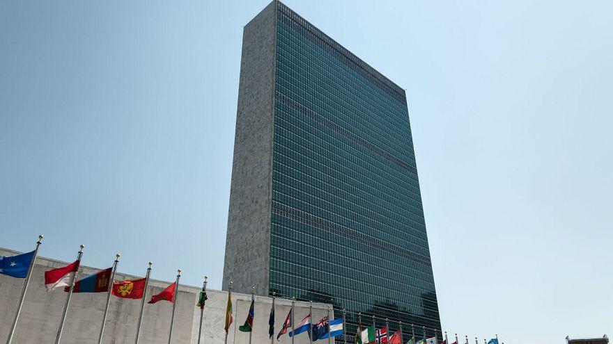 Le siège des Nations unies à New York