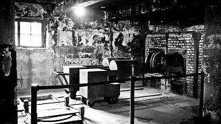 صورة من مخيم الاعتقال النازي أوشفيتز