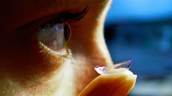 خطر نابینایی با عفونت از طریق لنزهای تماسی چشمی