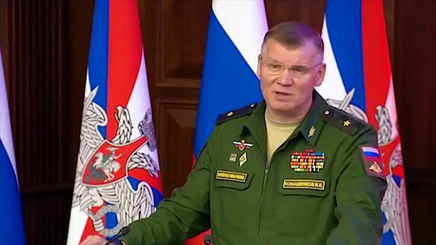 مؤتمر صحفي للناطق باسم وزارة الدفاع الروسية عن إسقاط طائرة إيل-20