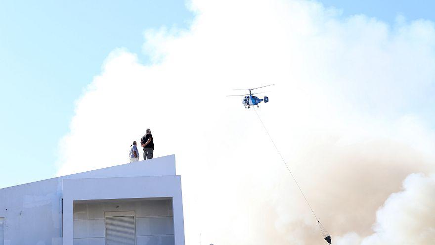 Ηράκλειο: Μεγάλη φωτιά στο Πανεπιστήμιο Κρήτης - Σώοι 69 φοιτητές
