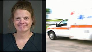 Hastaya kalp masajı yapılırken ambulansı çalıp otobanda polisle kapıştı