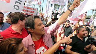 Haddad avança a duas semanas das presidenciais