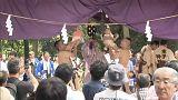 Japonya'da bebekler için 'ağlayan sumo' yarışması