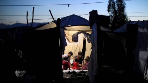 Watch: personal stories of refugees trapped on Greek island of Lesbos – 'life is bad here'