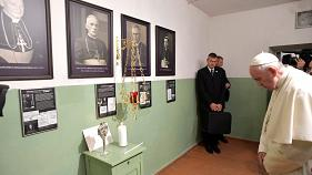 Le pape François en visite en Lituanie