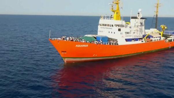 El Aquarius exige a los gobiernos europeos que se le permita seguir su misión