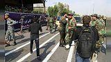 İran'daki saldırıya dair görüntüler ortaya çıktı: İŞİD üyesi oldukları teyit edildi