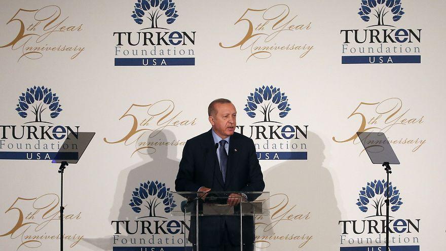 Erdoğan: Fırat Kalkanı gibi bir adımı önümüzdeki dönemde Fırat'ın doğusu için atacağız