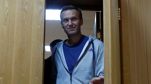 Rusia detiene a Navalni... nada más salir de la cárcel