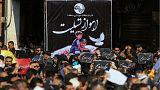 مراسم تشییع جاباختگان حمله اهواز