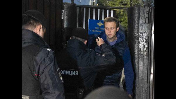 Alexeï Navalny arrêté à peine sorti de prison