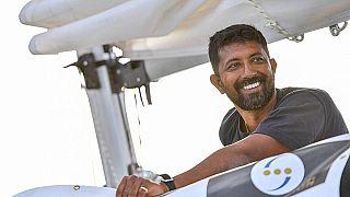 Le skipper Abhilash Tomy secouru en plein milieu de l'Océan Indien