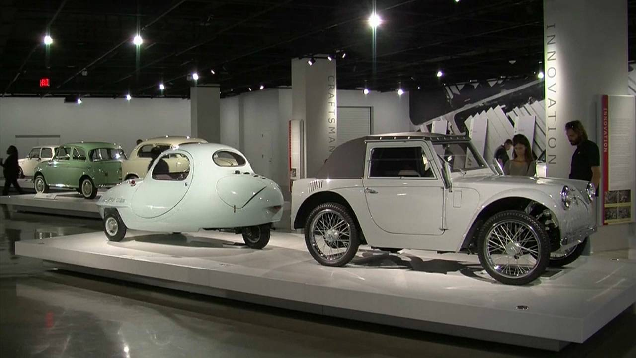 History of Japanese car design on display in California