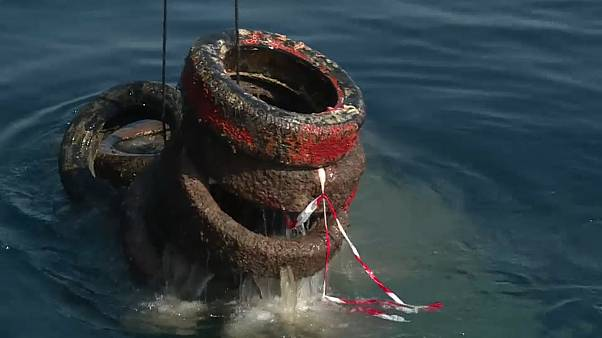 22 mil pneus para pescar no sul de França