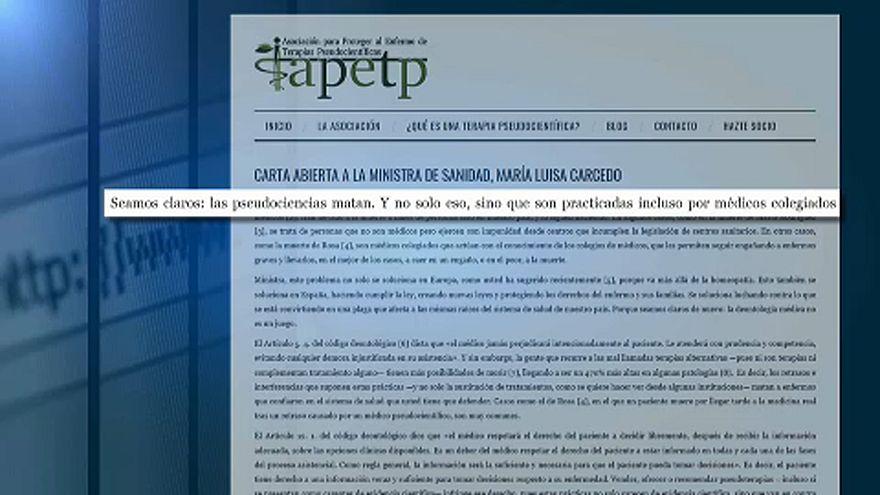 Científicos españoles alzan la voz contra las pseudoterapias