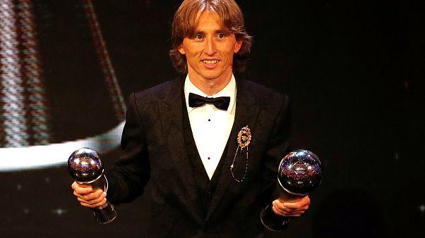 Prix FIFA : Modric et Deschamps récompensés