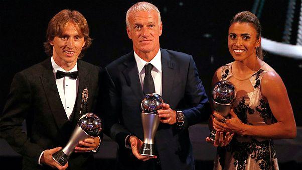 Luka Modric, Didier Deschamps e Marta entre os distinguidos pela FIFA