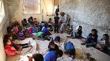 """A escola """"possível"""" nos territórios rebeldes da Síria"""