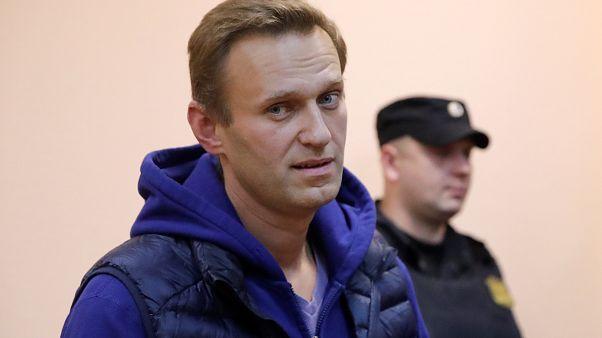 Rus muhalif lider Navalny'ye 20 gün hapis cezası