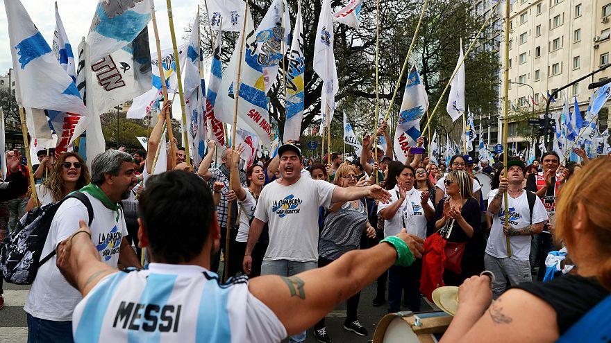 Grève contre l'austérité en Argentine