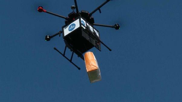 شاهد: طائرات بدون طيار لتوصيل الطعام في أيسلندا