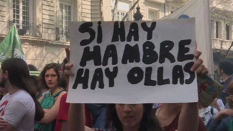 Argentina, paralizada por la huelga general contra el Gobierno Macri