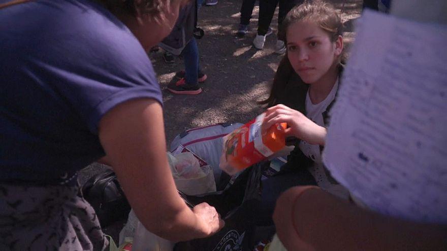 El trueque, alternativa en Argentina ante la crisis económica