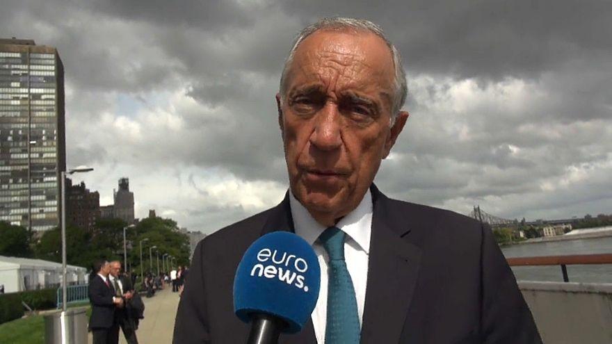 Marcelo Rebelo de Sousa quer afirmar valores europeus na ONU