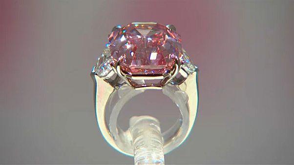 50 millió dolláros rózsaszín gyémánt