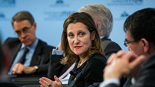 Canadian Foreign Minister Freeland